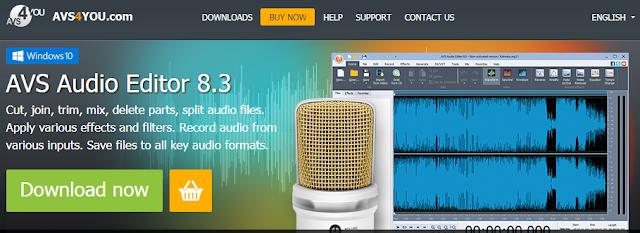 Tutorial Cara Edit Suara Dengan AVS Audio Editor