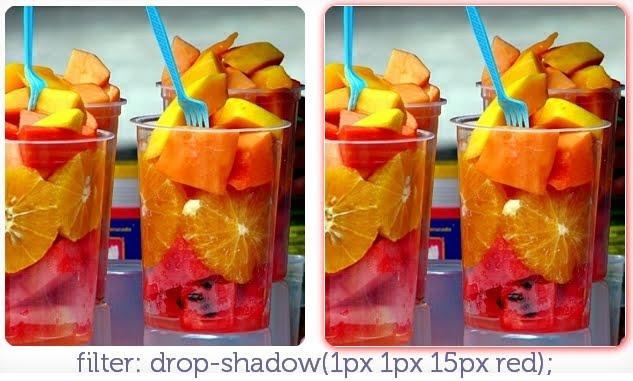 filter: drop-shadow