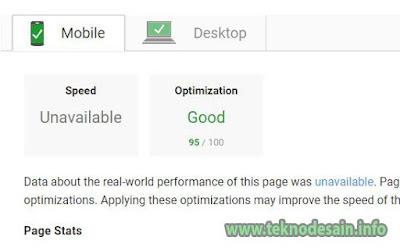 PageSpeed Insights untuk mengecek kecepatan web dan mobile-friendly