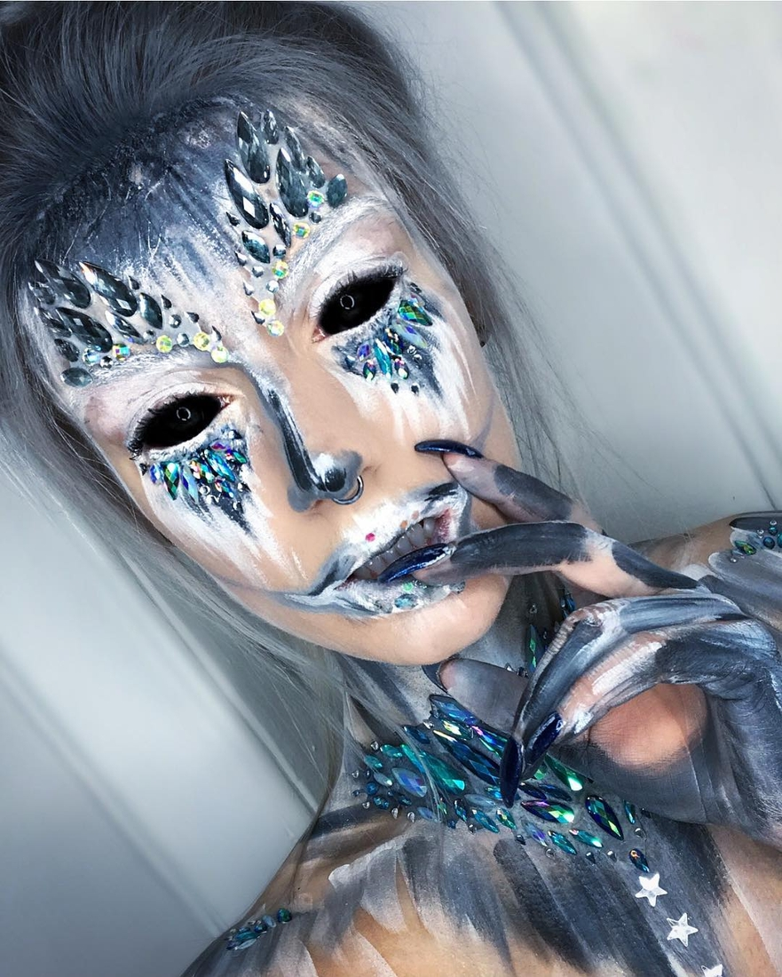 12-Precious-Stones-Erika-Marie-Mua-Makeup-Inspirations-for-Halloween-www-designstack-co