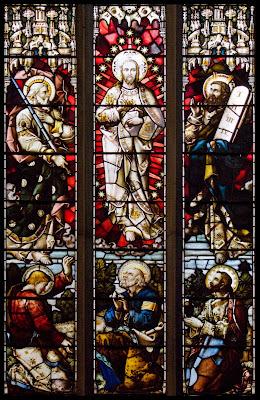 Imagem da transfiguração de Jesus Cristo, vitral, #3