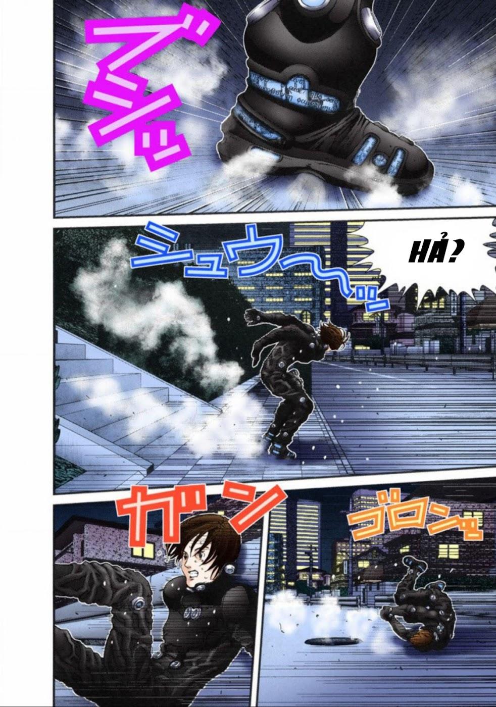 Gantz Chap 15: Nhảy hoặc chết trang 12