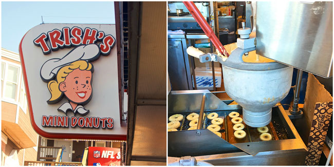 Trish's Mini Donuts - Pier 39 in San Francisco, CA - a MUST!