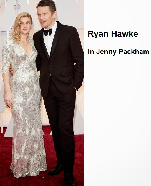 Ryan%2BHawke%2Bin%2BJenny%2BPackham - Look Óscares 2015