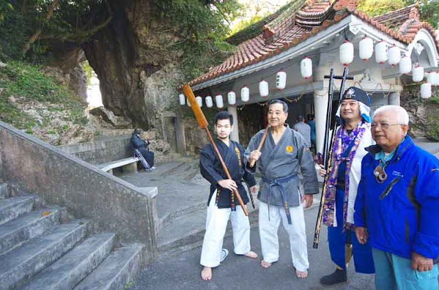 martial arts experts, weapons,Ken Uehara, Hakugindo Shrine