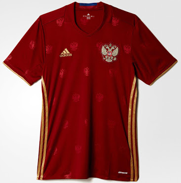 Jersey Russia EURO 2016