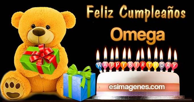 Feliz Cumpleaños Omega