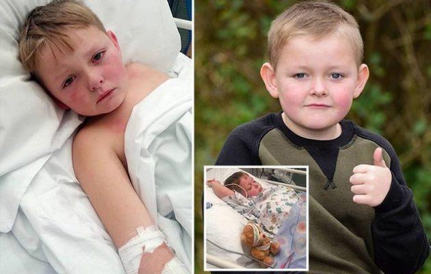 6χρονος κόντεψε να πεθάνει γιατί οι γιατροί έκαναν λάθος διάγνωση τρεις φορές