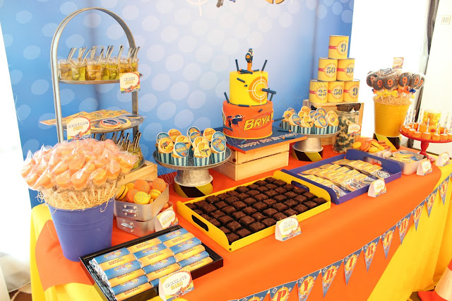 Nerf Gun Themed Dessert Table Please Click Post For More