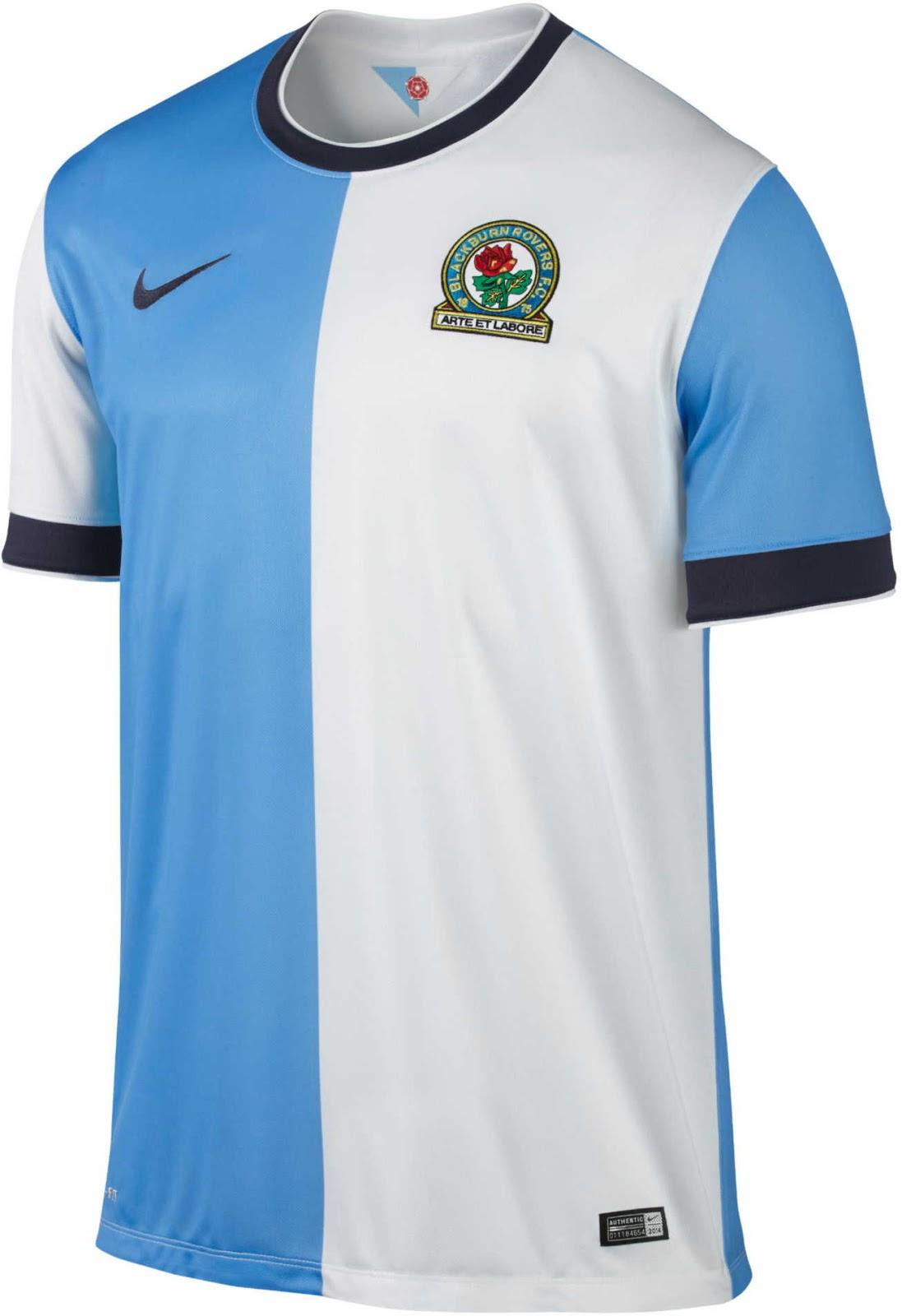 Nike Blackburn Rovers 14-15 Home And Away Kits