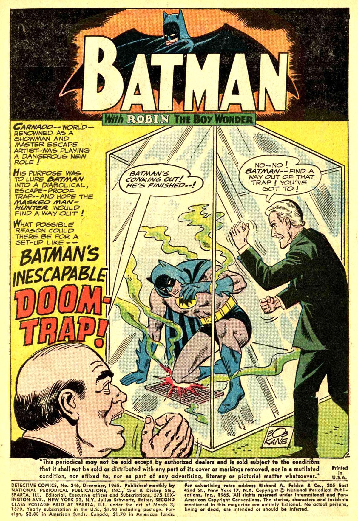 Detective Comics (1937) 346 Page 2
