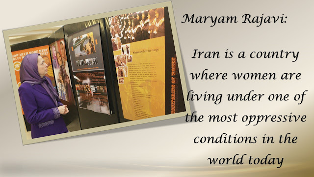 "MARYAM RAJAVI'S MESSAGE TO THE ""WOMEN FORCE FOR CHANGE"" STOCKHOLM, SWEDEN"