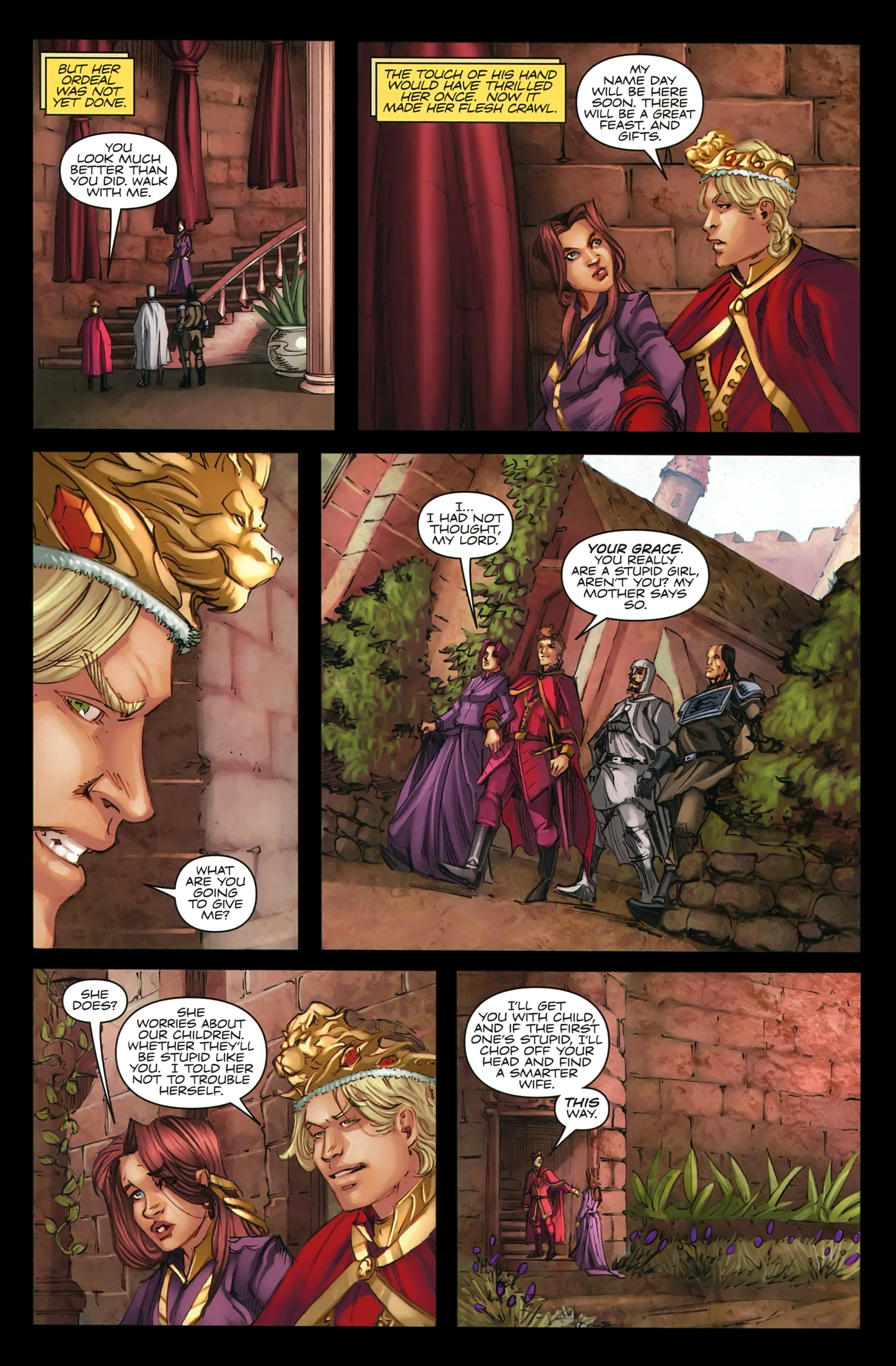 Read online A Game Of Thrones comic -  Issue #22 - 12