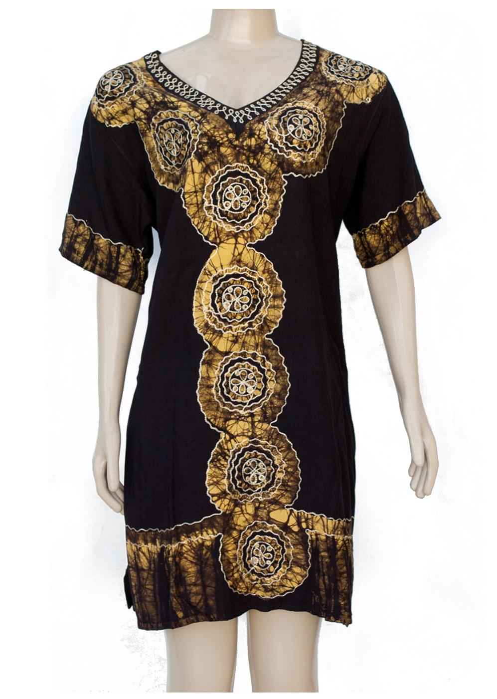 d529e258fc Vestido Indiano Batik Mandala Rara Varejo e Atacado