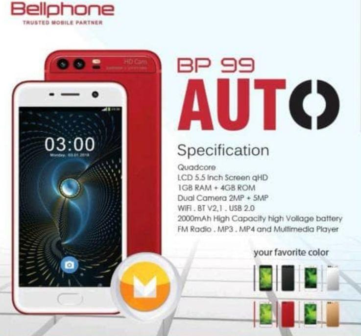 Bellphone BP 99 Auto Spek Terbaik Harga 600 Ribuan