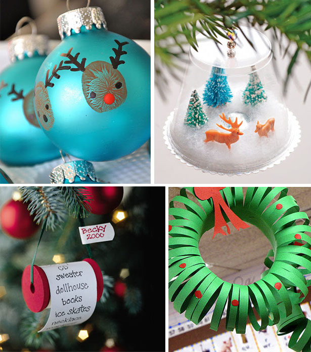 different christmas decorating easy crafts for kids - Different Christmas Decorations