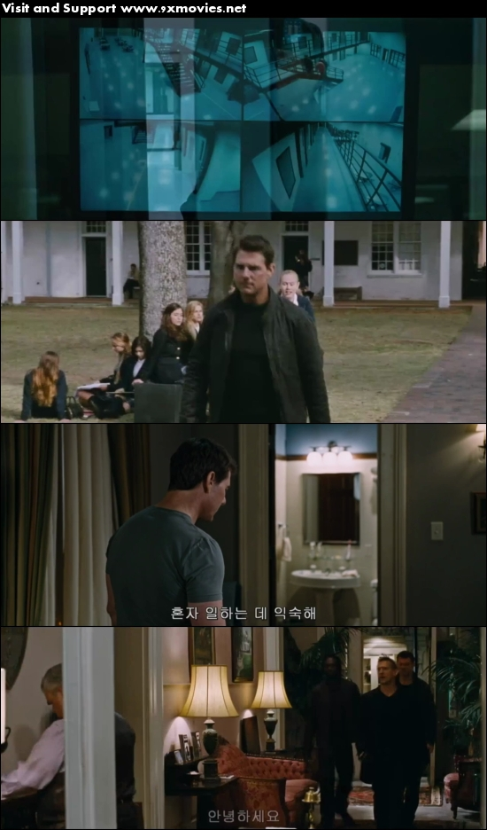 Jack Reacher Never Go Back 2016 English 480p HC HDRip