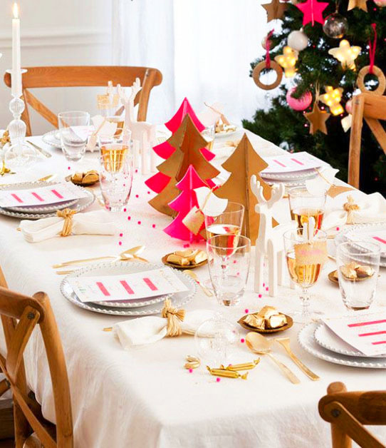 idee originale table de noel