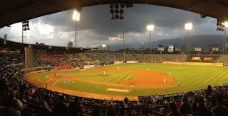 Estadio Universitario de Caracas, donde juegan los Leones del Caracas y los Tiburones de La Guaira