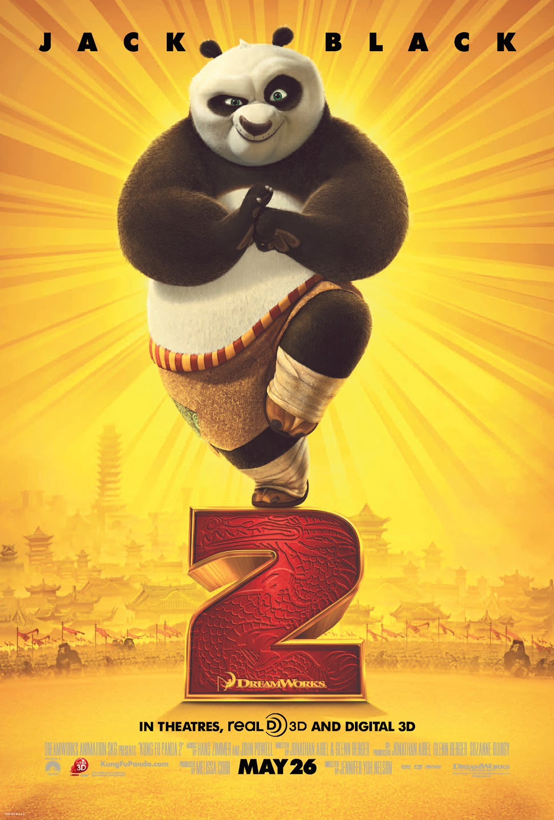 7c3817aee2b Dreamworks Animation Presents Kung Fu Panda 2 in Theaters May 26th 2011.