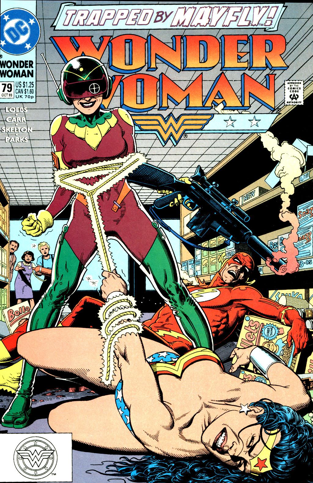 Read online Wonder Woman (1987) comic -  Issue #79 - 2