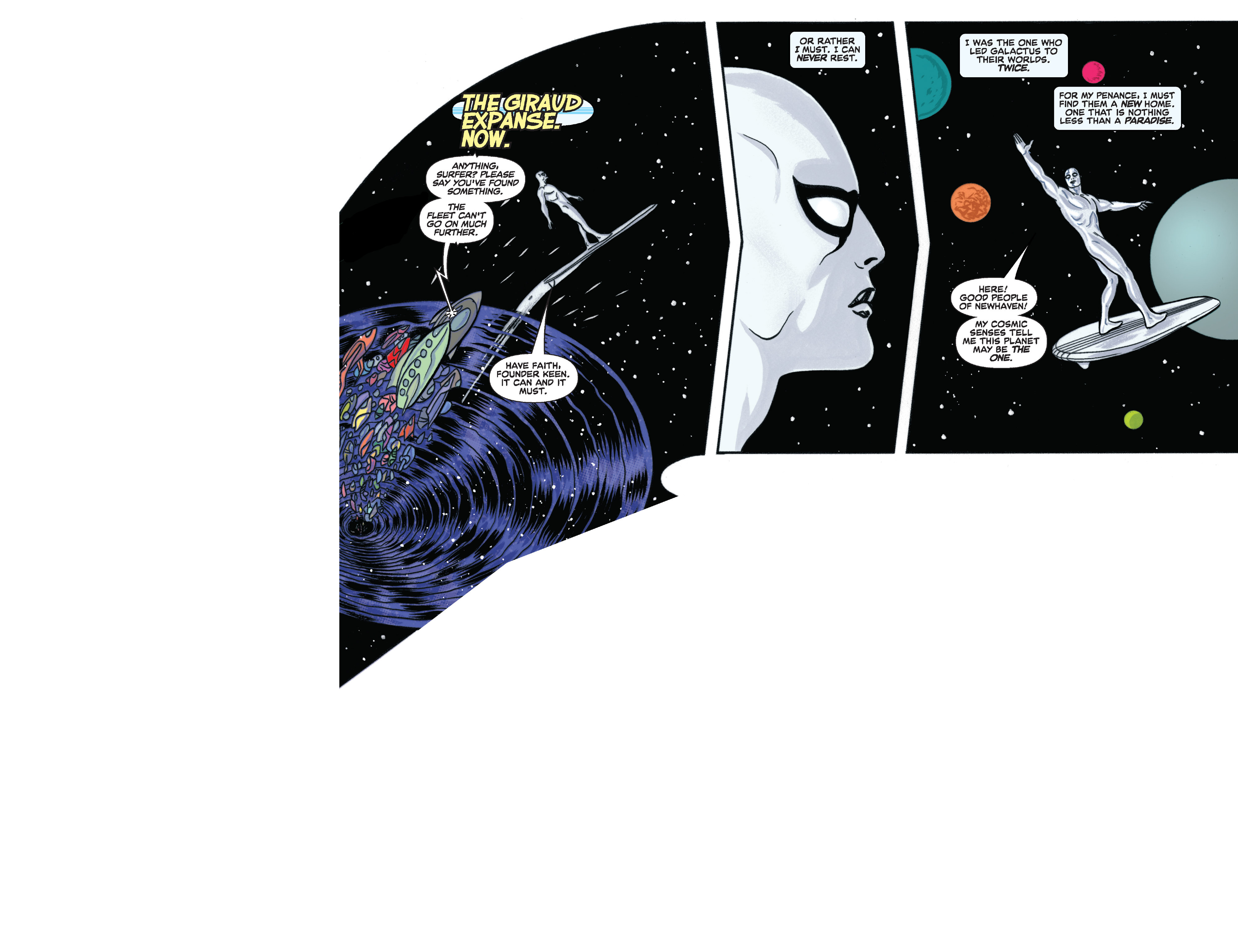 Read online Silver Surfer (2014) comic -  Issue #11 - 25