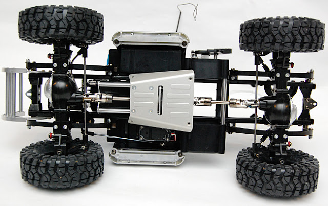 Tamiya High Lift slid plate