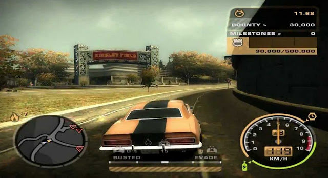 NFS Most Wanted Black Edition For Pc