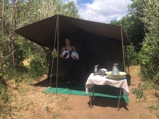 teltta, mashatu, botswana, safari, riitta reissaa, ratsastus