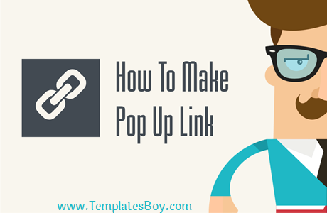 How to Make a Pop Up Link on a Blog