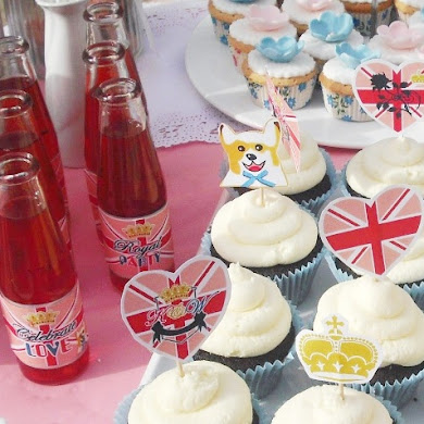 An Adult Royal Tea Birthday Party