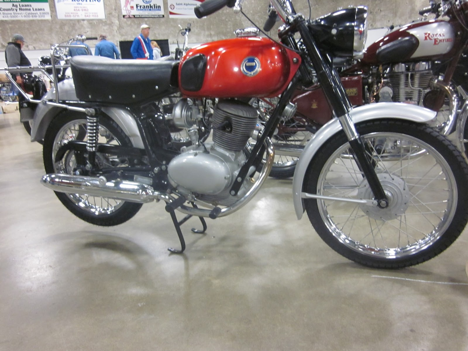 Oldmotodude 1965 sears allstate 106 ss on display at the 2013 1965 sears allstate 106 ss on display at the 2013 idaho vintage motorcycle show caldwell id sciox Gallery