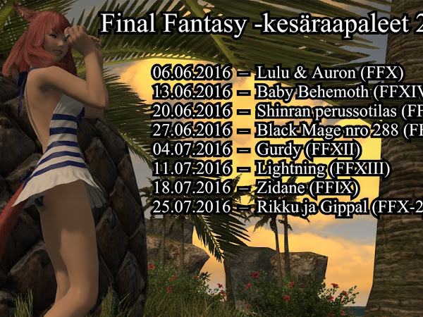 Final Fantasy -kesäraapaleet