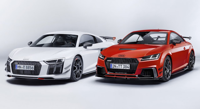 Goodies for TT and R8 Audi launches Audi Sport Performance Parts range