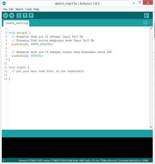 Input dan Output pada Arduino IDE | Arduino #1