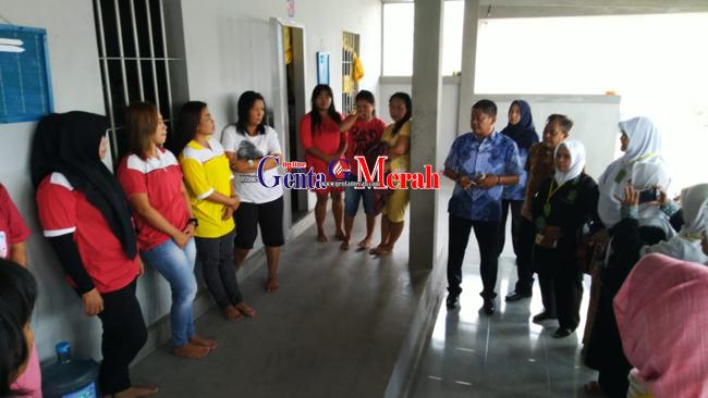 Rubah Pola Fikir Warga Binaan, Napi Wanita Lapas Gunungsugih Gelar Pembinaan Rohani