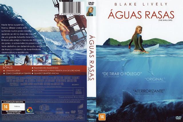 Capa DVD Águas Rasas