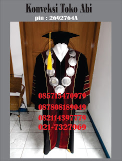 Paket Baju Toga Wisuda Murah