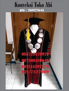 Harga Baju Toga Wsuda Lengkap Sarjana Dan Guru Besar