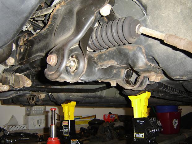 1998 Civic Hatchback Project Front Suspension