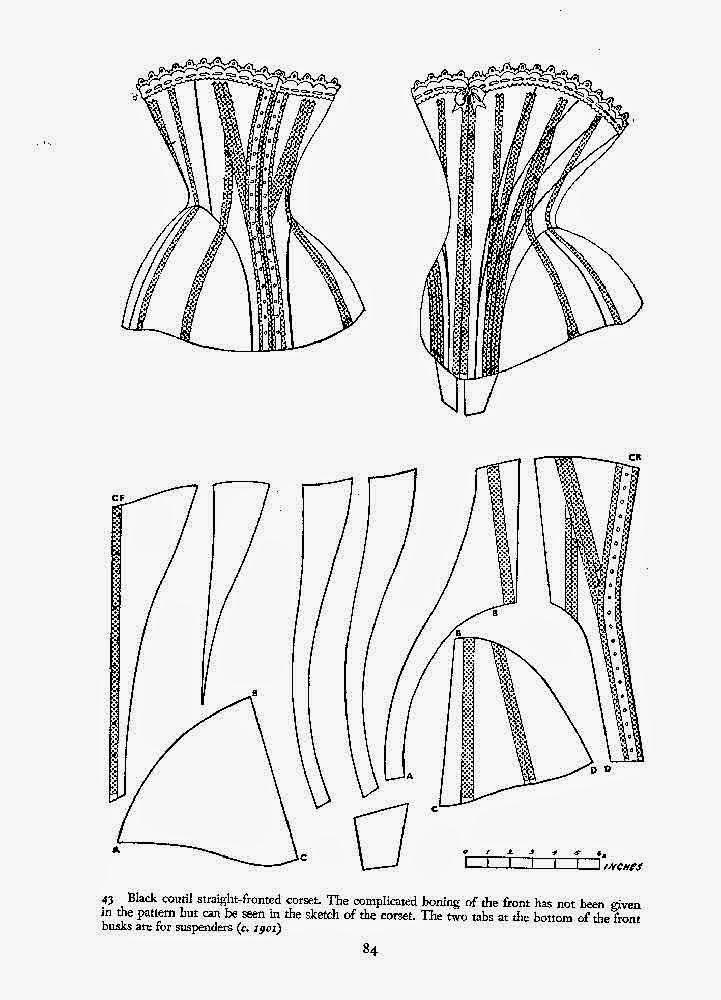 House of Dario Princiotta: 1901 Norah Waugh corset: paper