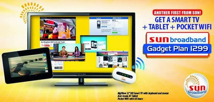 Sun Broadband Smart TV bundle