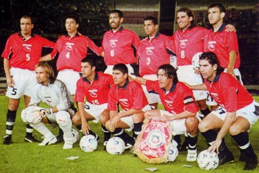 Formación de Chile ante Argentina, Clasificatorias Corea/Japón 2002, 29 de marzo de 2000