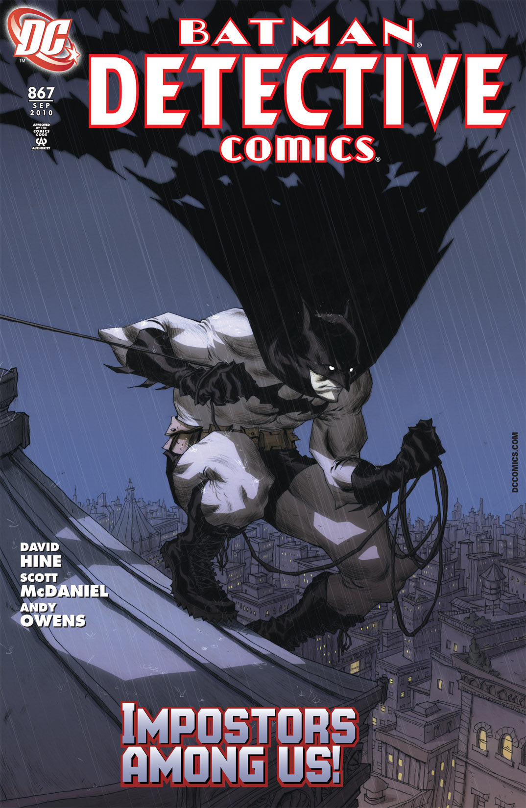 Detective Comics (1937) 867 Page 1
