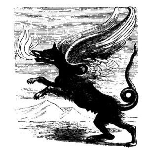 Goetia - Marchosias (Illustration)