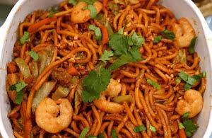 Delicious Hokkien noodles