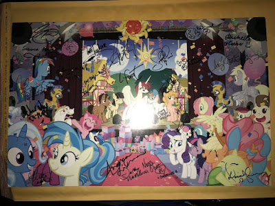 Poster stolen from (the American) Ponycon, January 2017