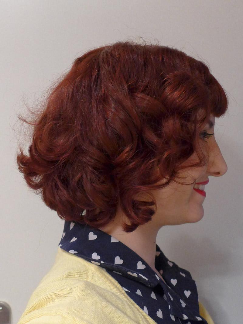 coiffure années 50