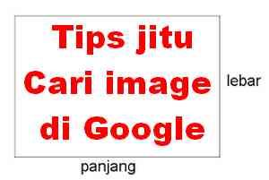 cari gambar di google berdasarkan ukuran tertentu