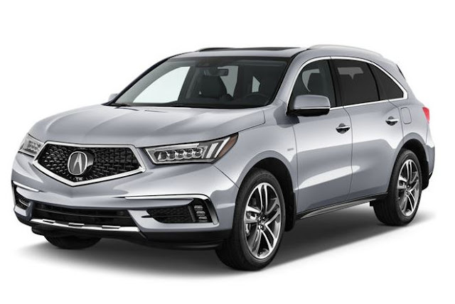 The Best Luxury Hybrid Cars : 2018 Acura MDX Hybrid